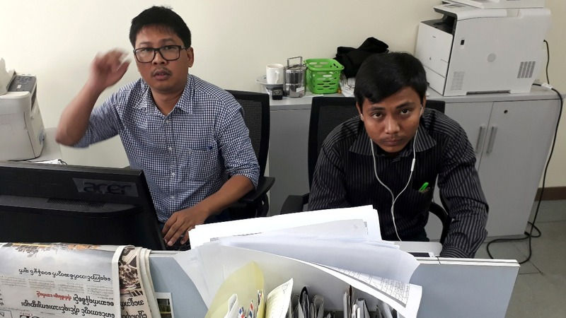 Journalists arrested in Myanmar to face court