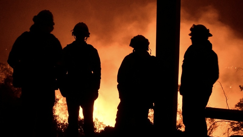 Second-largest California fire continues to rage