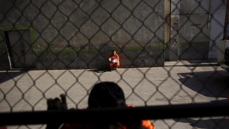 Mexico prisons increasingly empty