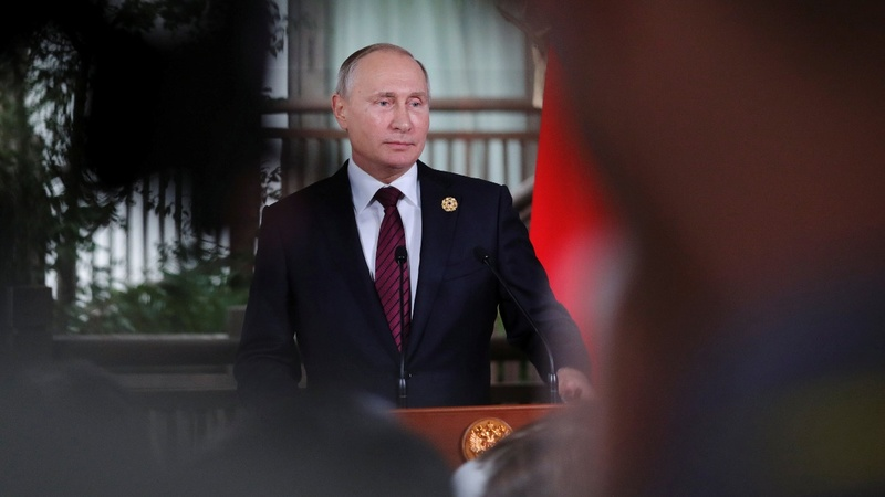 PERSPECTIVES: Vladimir Putin's busy year