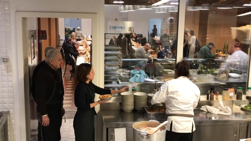 Poor Italians get a five-star soup kitchen