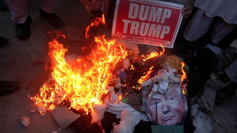 'Day of rage' against Trump's Jerusalem decision