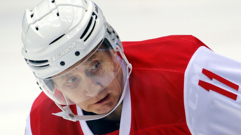 INSIGHT: Putin takes to the ice for hockey game