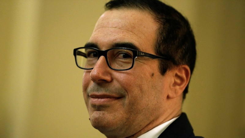 Police: Horse manure in package meant for Mnuchin