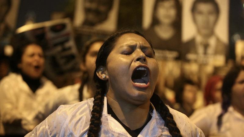 Violent clashes in Peru after ex-leader pardoned