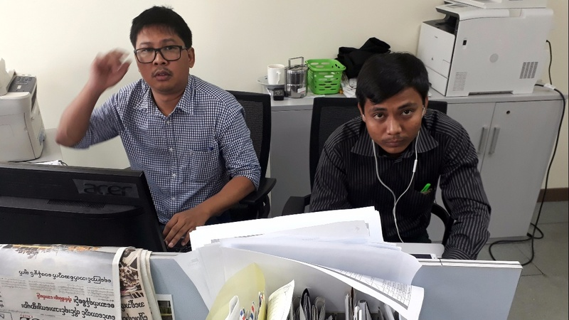 Detention extended for Reuters journalists in Myanmar