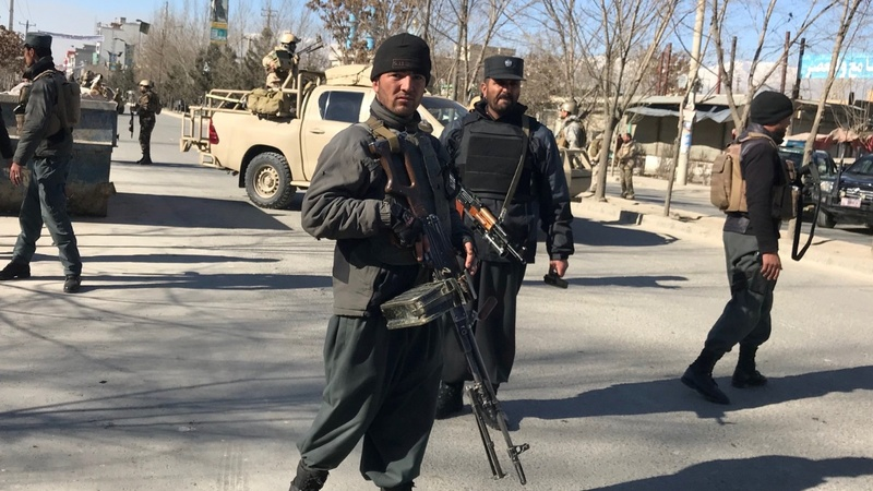 Blast at Afghan news agency kills dozens in Kabul