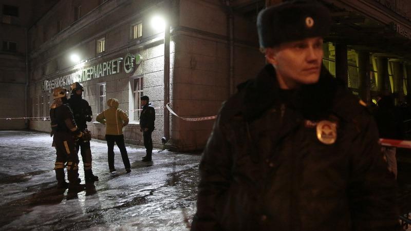 Putin states supermarket bombing was terrorism