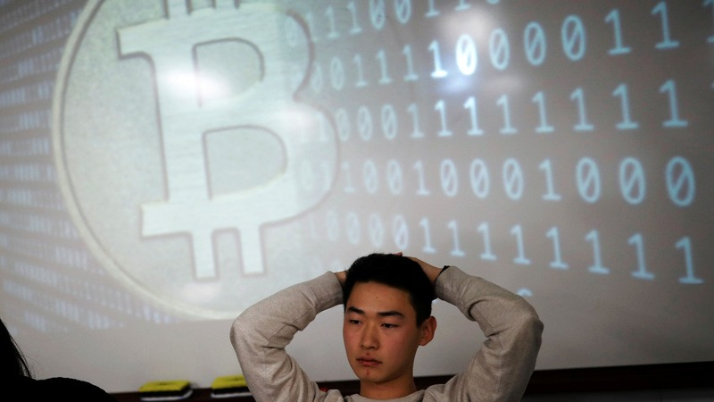 South Korean students dive into virtual coins