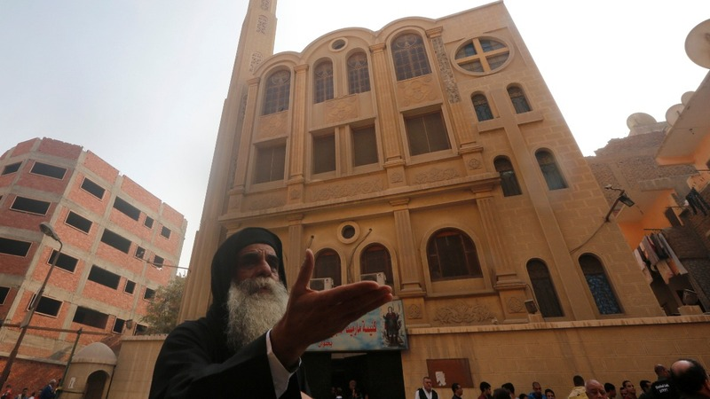 Nine killed in deadly church attack in Egypt
