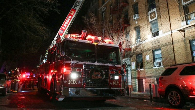 "Stairway acted like a ""chimney"": FDNY on Bronx fire"
