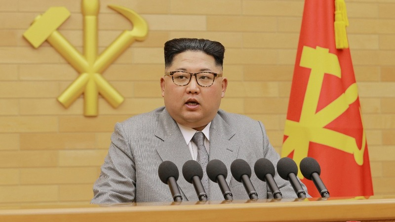 """North Korea leader has """"nuclear button"""" on his desk"""