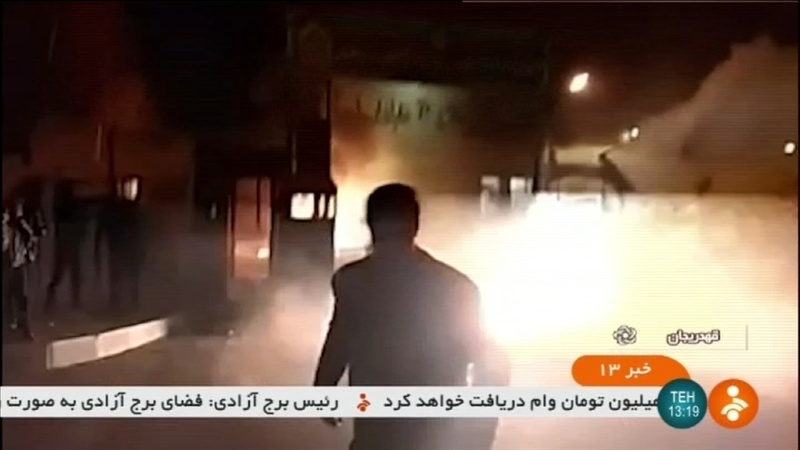 Iran crackdown intensifies as police stations attacked