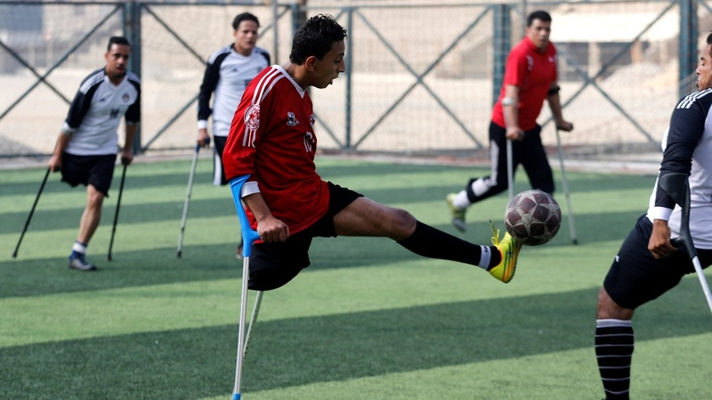 INSIGHT: Egypt's first amputee soccer team