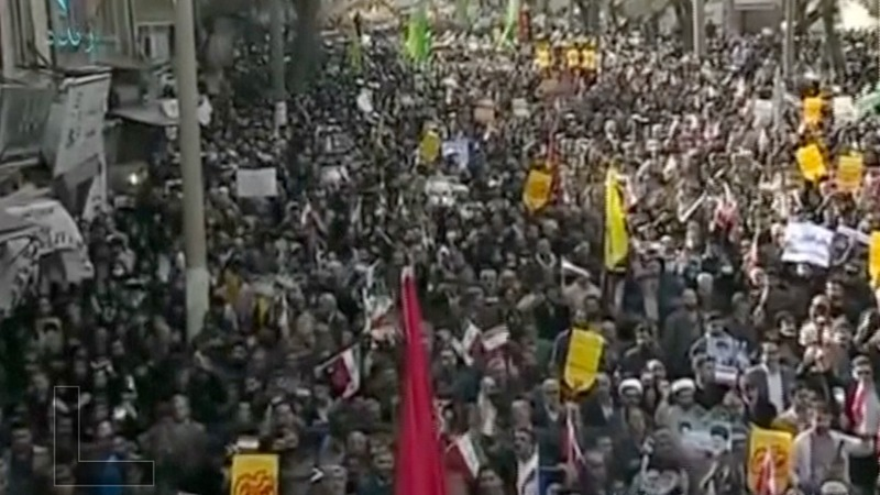 Iran holds pro-government rallies after days of protests