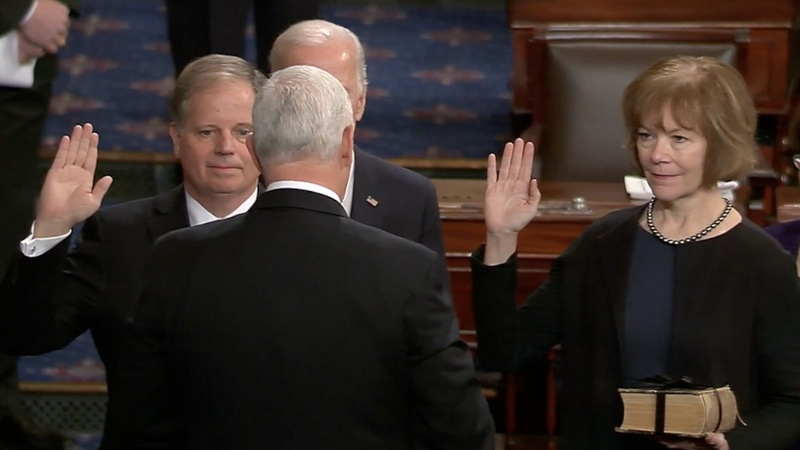 INSIGHT: Dem senators Jones and Smith sworn in