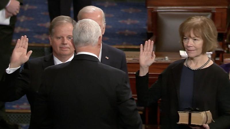 INSIGHT: Dem senators Jones and Smith sworn in