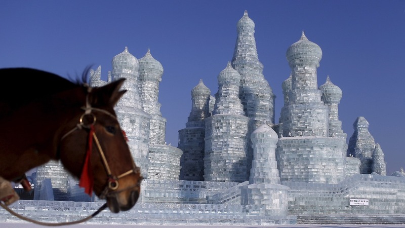 INSIGHT: China's 'Ice City' gears up for winter festival