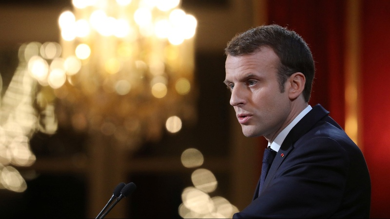 France's Macron plans 'fake news' fight