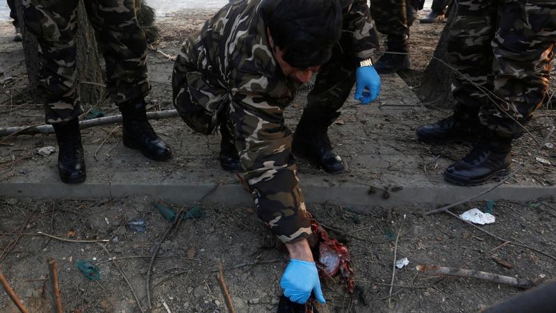 Blast hits police in Afghan capital Kabul