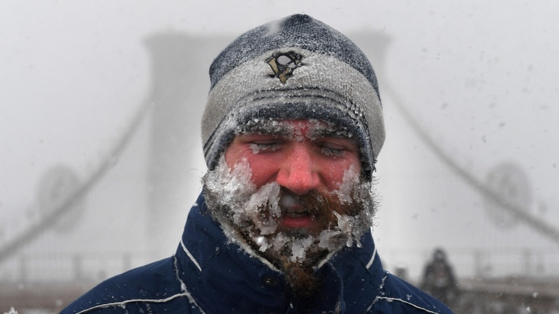Arctic temps follow blizzard in Northeast U.S.