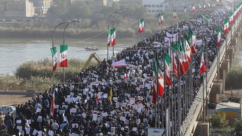 Iran stages pro-Tehran protests