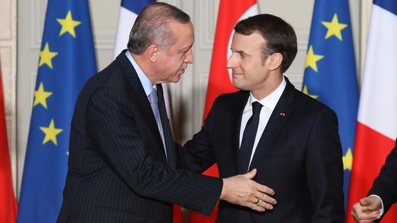 Respect rule of law, Macron tells Erdogan
