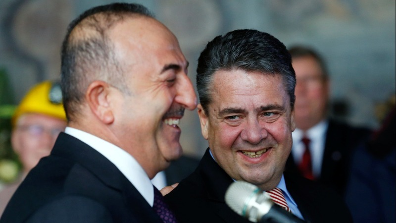 NATO allies Germany, Turkey attempt a thaw