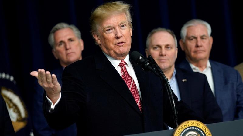 VERBATIM: Trump defends mental state against 'fraud' author