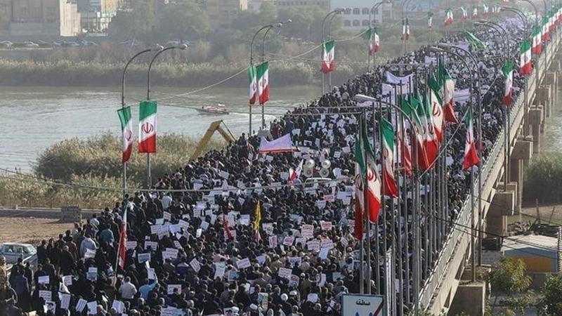 Iran says it's quashed mass civil unrest