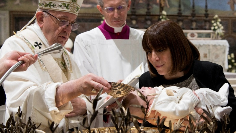 Pope to moms: Feel free to breastfeed in Sistine Chapel