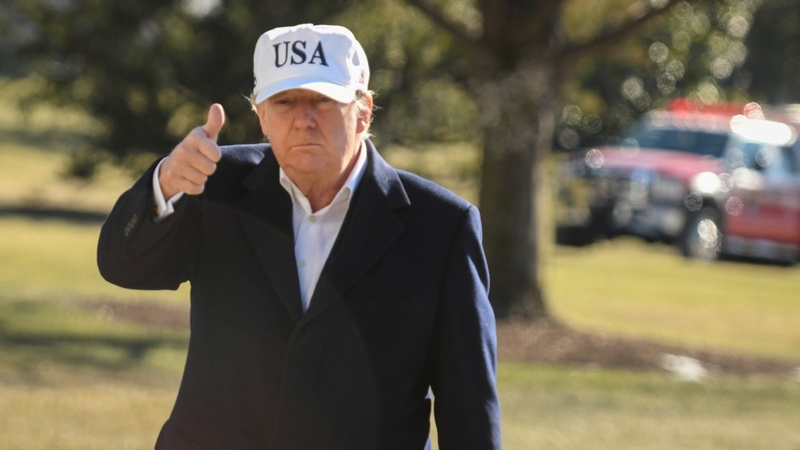 Trump again hits back at question of mental fitness