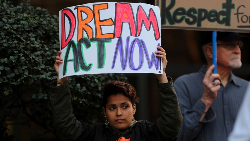 U.S. lawmakers seek 'DACA' deal in budget talks