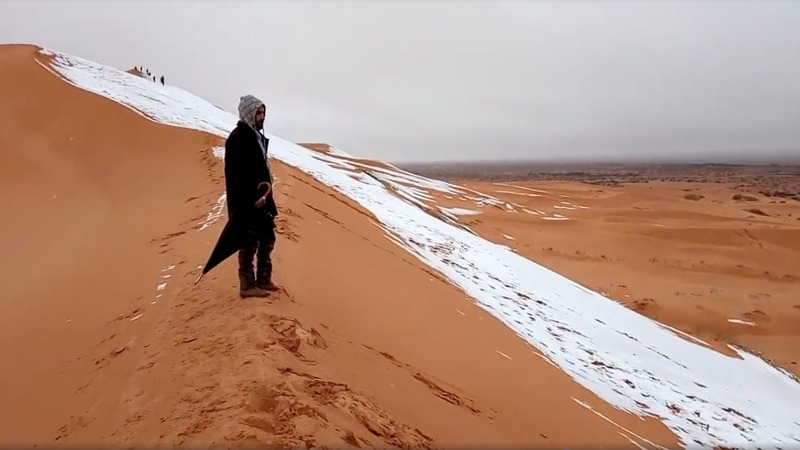 INSIGHT: Snow in the Sahara