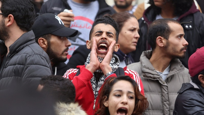Tunisia arrests 237 in clashes and protests