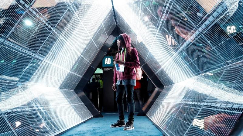The massive Las Vegas tech show