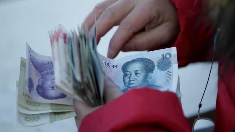 Debt yields spike on China fears