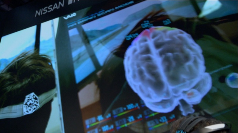The brain makes waves at CES tech show