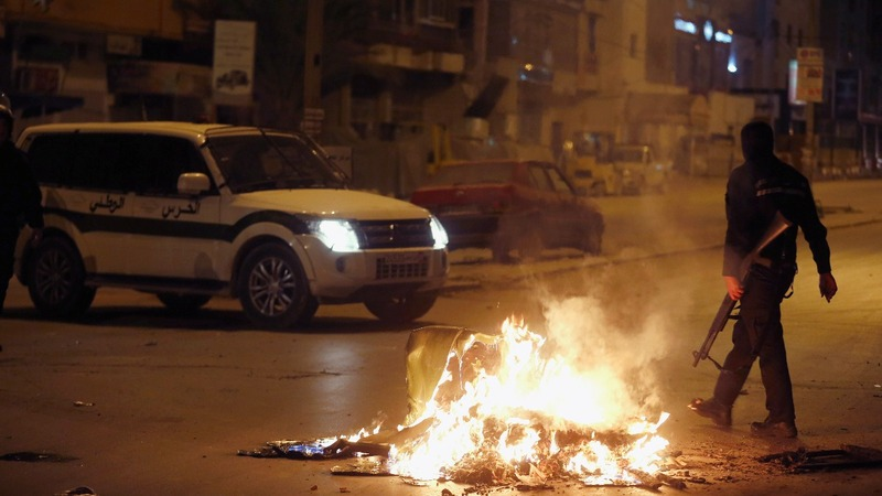Tunisia's army deploys as violent protests spread