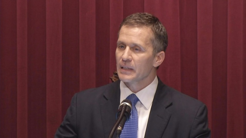 Missouri governor admits to extramarital affair, denies blackmail