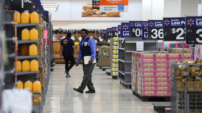 Walmart to hike wages, citing recent tax overhaul