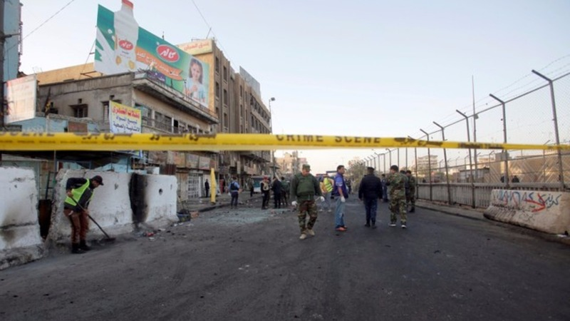 At least 27 dead in Baghdad twin suicide bombing