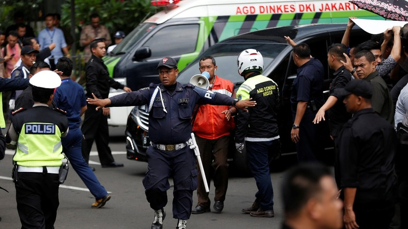 Floor collapse at Jakarta stock exchange injures dozens