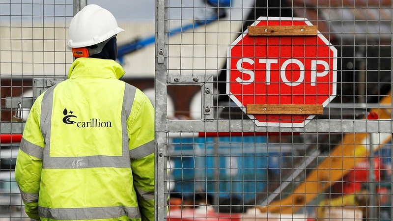 Carillion collapse a new headache for UK's May