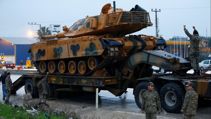 Turkey threatens Kurds in Syria, deploys tanks to border
