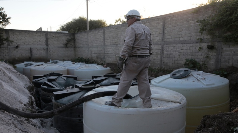 Fuel theft cripples Mexico's refineries