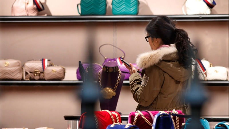 Chinese millennials drive a luxury comeback