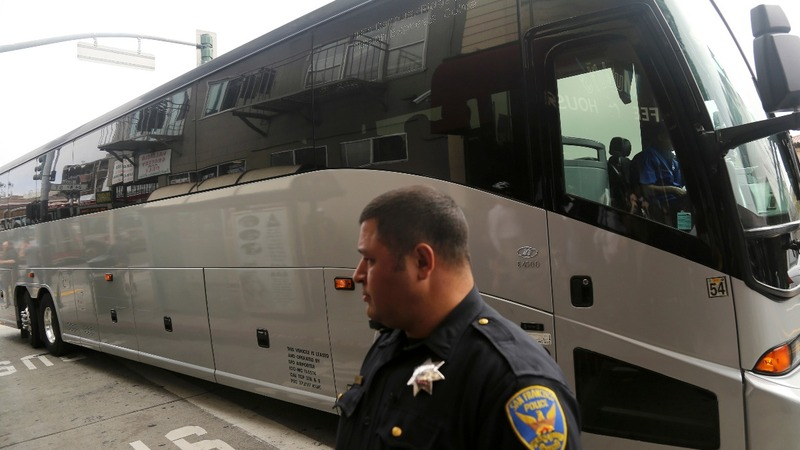 Police probing possible attacks on tech buses