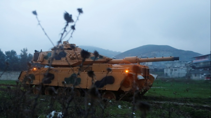 Turkish shelling 'marks start of Syria operation'