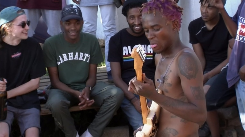 South Africa's black punks rock Soweto